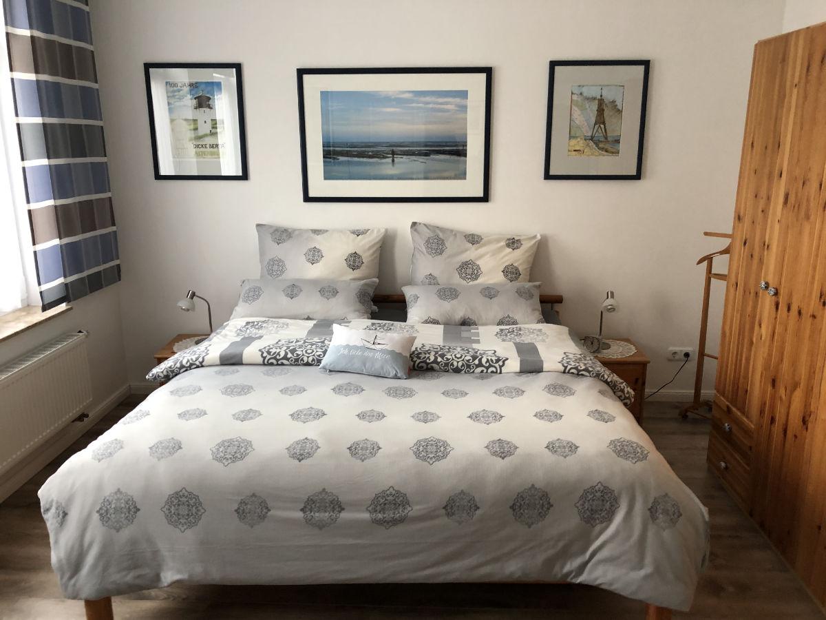 Ferienwohnung aus Cuxhaven - Lotsenviertel/Stadtmitte - Schlafzimmer