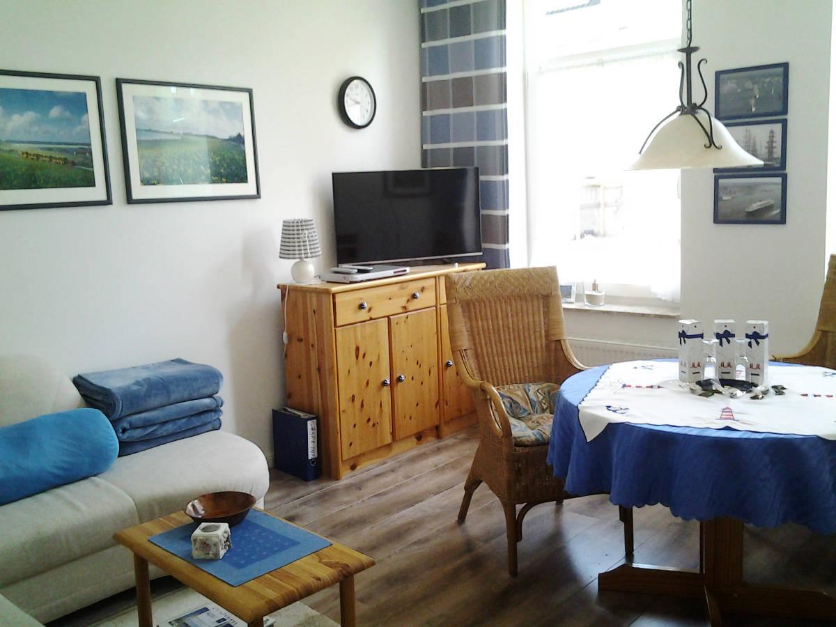 Ferienwohnung aus Cuxhaven - Lotsenviertel/Stadtmitte - Wohnbereich